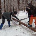 je potřeba udělat dřevo...