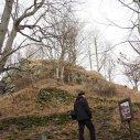 ...na jejímž vrcholu je zřícenina hradu Fürstenwalde.