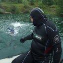 Radši plav, budeš tam rychleji ! :-)